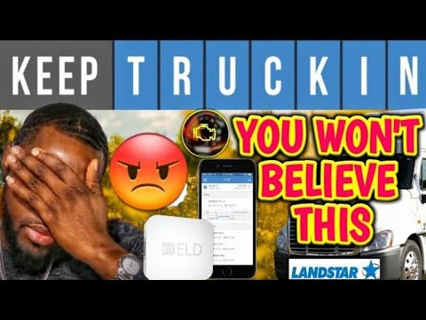 KeepTruckin ELD Did This To My Volvo Truck | landstar Bco. (pt2)