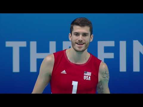 USA vs SERBIA - Bronze Match - Men's World Championship 2018