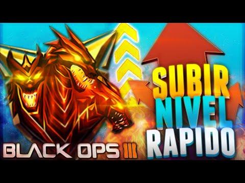 BLACK OPS 3 - GUÍA PARA SUBIR RÁPIDO DE NIVEL (LA MEJOR FORMA PARA SUBIR DE NIVEL)