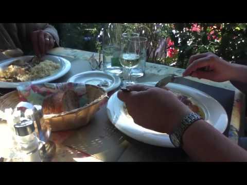 Dinner at the Restaurant Bel Air