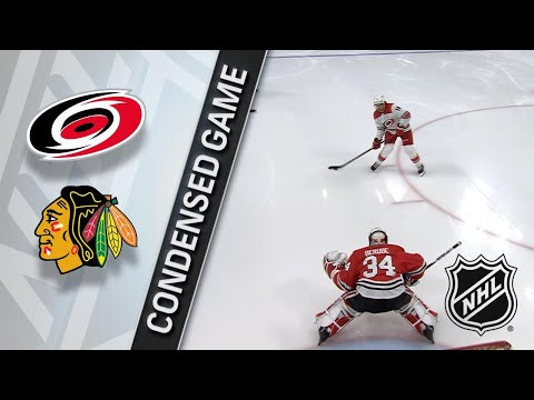 03/08/18 Condensed Game: Hurricanes @ Blackhawks