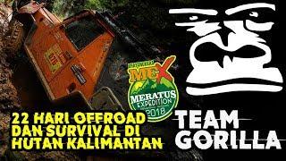 TEAM GORILLA MEX 2018 | SURVIVAL OFFROAD DI HUTAN KALIMANTAN