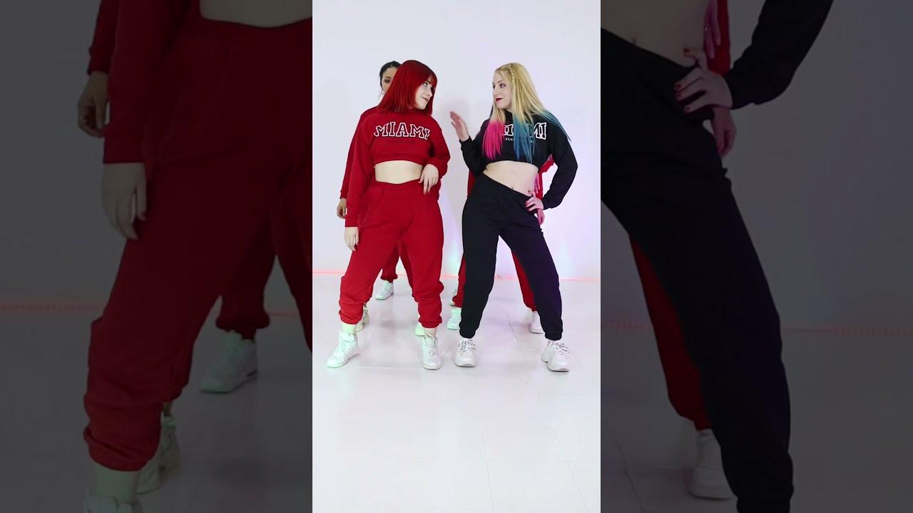 LAS NENAS 🔥 TIK TOK TREND Baile #Shorts