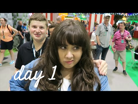 MEETING GRASER - MINECON 2015 VLOG (DAY 1)