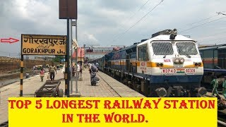 Top 5 Longest Railway Platforms In The World