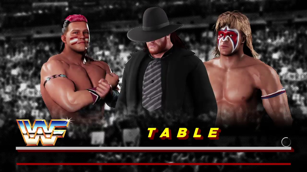 WWE 2K18 Undertaker VS Tatanka VS Ultimate Warrior Triple ...