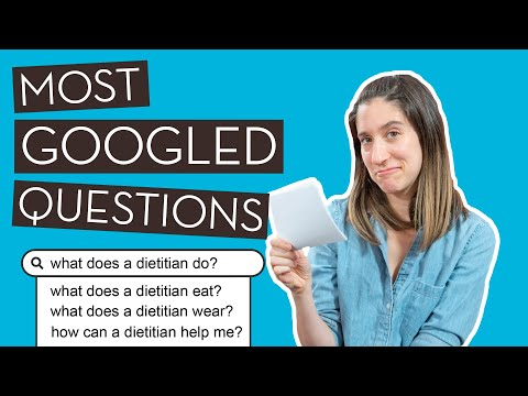 A Dietitian Answers Commonly Googled Questions About Dietitians