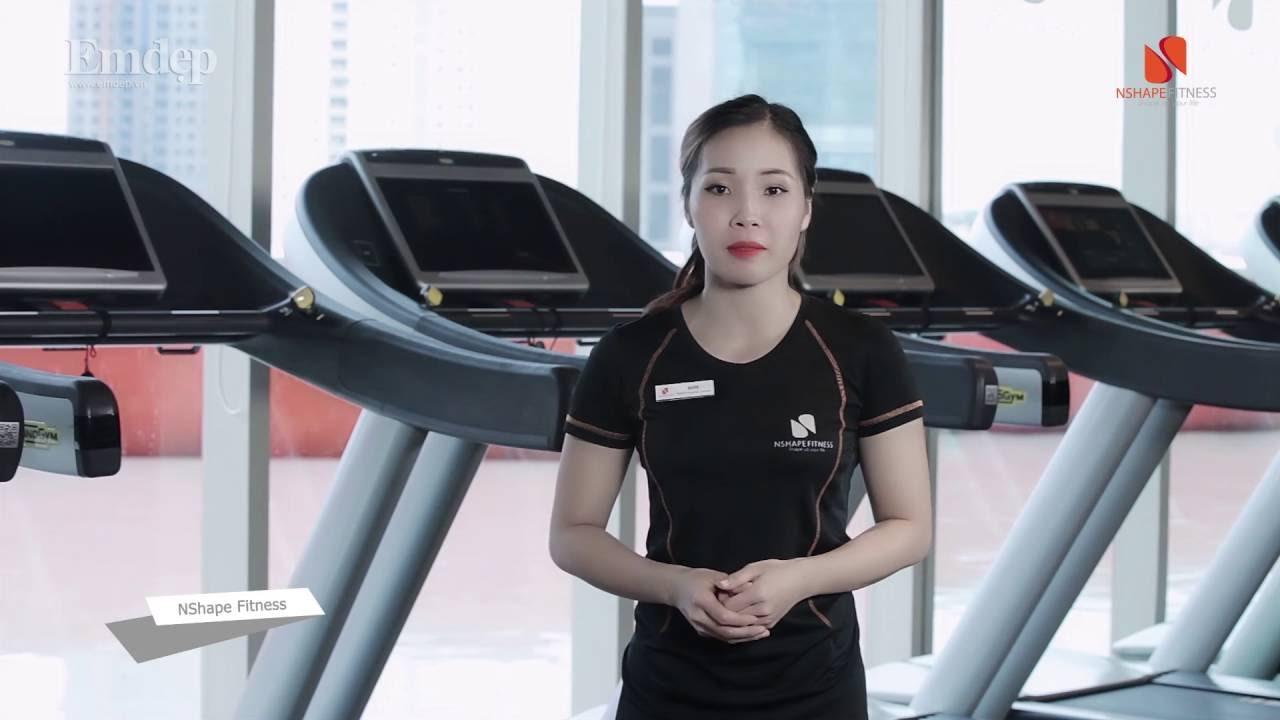 Các bài tập cardio với máy giúp bạn nữ dáng chuẩn đẹp như siêu mẫu| Emdep TV