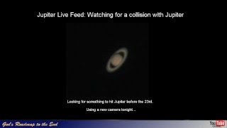 Watching Jupiter with new camera