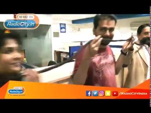 Longest Moustache Record Holder Ram Singh Chauhan at Radio City Jaipur Office