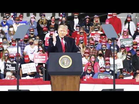 Trump Rally Goes Horribly Wrong, Supporters SILENT