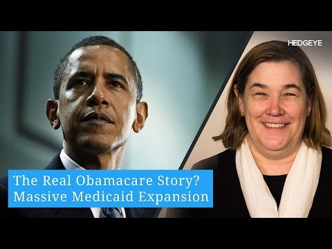 The Real Obamacare Story? Massive Medicaid Expansion