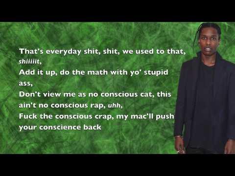 A$AP Rocky - Suddenly - Lyrics