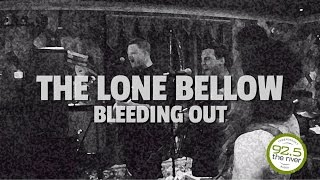 The Lone Bellow performs