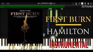First Burn (Instrumental) - Hamilton (Synthesia Piano Backing) Mp3