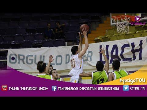 JUEGO COMPLETO - Dorados UACh vs ITESM Chihuahua - Liga ABE 2015-16