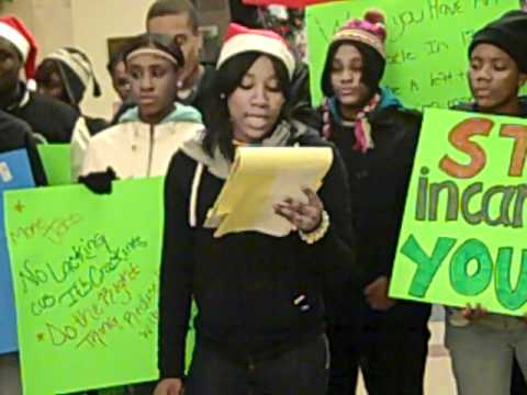 Youth Campaign To Close Cook County Juvenile Temporary Detention
