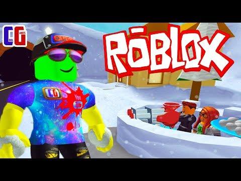 СНЕЖКИ в РОБЛОКС! Симулятор СНЕЖНОЙ БИТВЫ Мультяшная игра Snow Ball Fighting Simulator Roblox