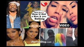 Offset Sidechick in LA with 6ix9ine No Security, dancing! BABY MAMA Goes Off ???????? Video
