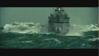 Big storm  catastrophe sea is raging