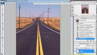 PhotoShop Урок12. Инструмент Текст-маска.