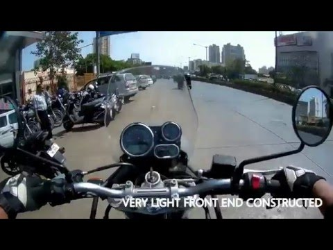 Test riding The Royal Enfield HIMALAYAN, review inc.