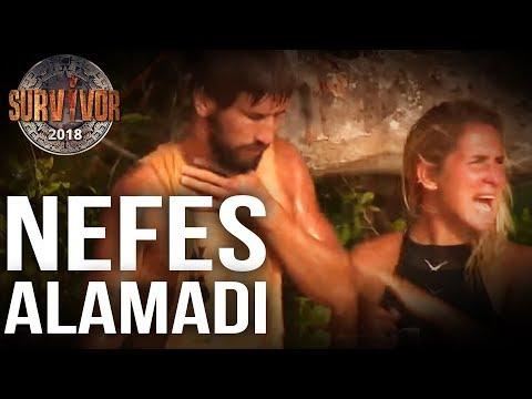 Adem Nefessiz Kaldı, Herkesi Korkuttu! | 100. Bölüm | Survivor 2018