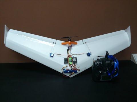 Build Simple Flying Wing ( delta wing ) V1