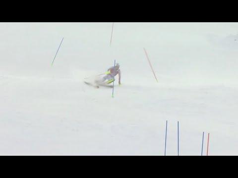 Alpine Skiing Levi 2019, Men's World Cup 1 Run Alpine Skiing Slalom Full 1 Run