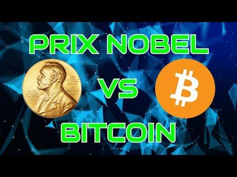Les Prix Nobel Tirole et Stiglitz critiquent le Bitcoin