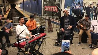 Linkin Park - Burn It Down + Crawling live Grand Central Station 2017
