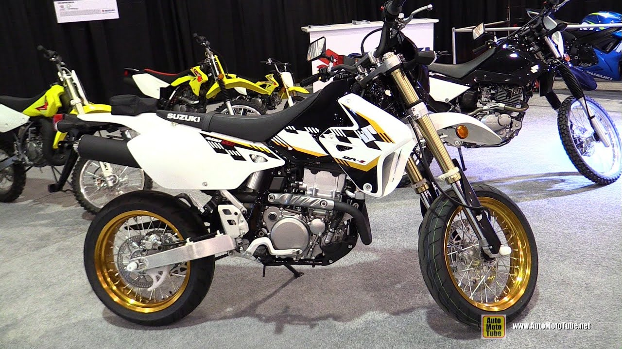 2014 suzuki dr z 400 sm super motard walkaround 2014 st hyacinthe atv show youtube. Black Bedroom Furniture Sets. Home Design Ideas