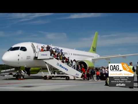airBaltic Reaches Best Punctuality Globally