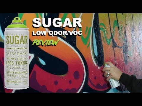 Sugar Low VOC Spray Paint - First Impressions