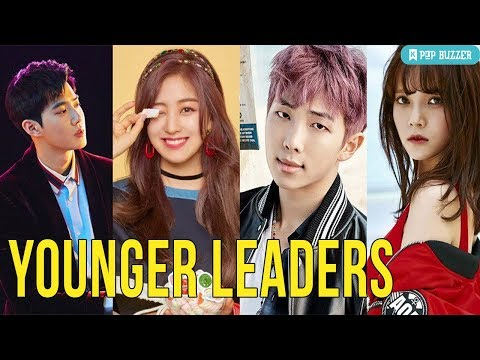 20 Kpop Idol Groups Where The Leaders Aren't The Oldest Members
