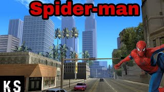 Как установить мод Spider-man на Gta-sa android.