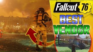 TRADER BETTER THAN WHITESPRINGS!! - FALLOUT 76 STORE CAMP BUILD