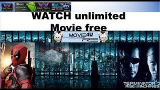 MOVIE4UFREE  WATCH MOVIES,TV SHOW ANY DEVICE WITHOUT BUFFERING USING WEBBROWSER