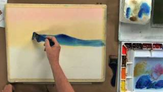 (Preview) Luminous Watercolor Painting with Sterling Edwards: The Evening Landscape