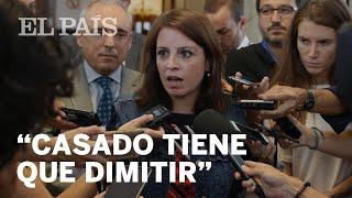 El PSOE pide la DIMISIÓN de CASADO tras la de Montón por el caso máster