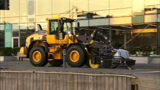 볼보 H-시리즈 휠 로더: 간편한 장착성