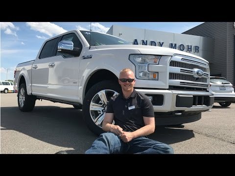 2017 Ford F-150 Platinum Review by Alex Buker Andy Mohr Ford Plainfield Indiana IN