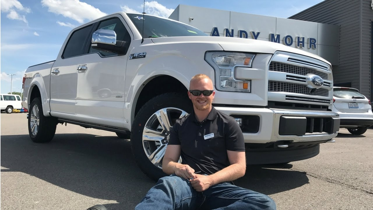 2017 ford f 150 platinum review by alex buker andy mohr ford plainfield indiana in youtube. Black Bedroom Furniture Sets. Home Design Ideas