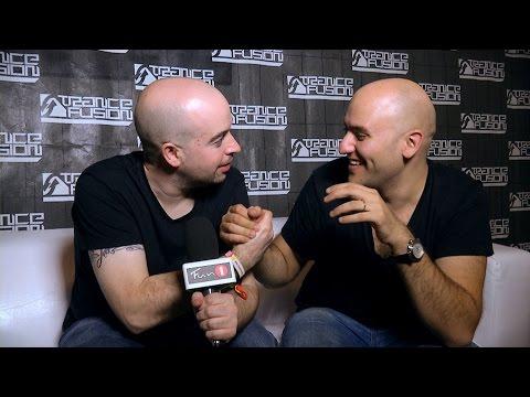 ALY & FILA + JOHN O'CALLAGHAN interview at Trancefusion 2014