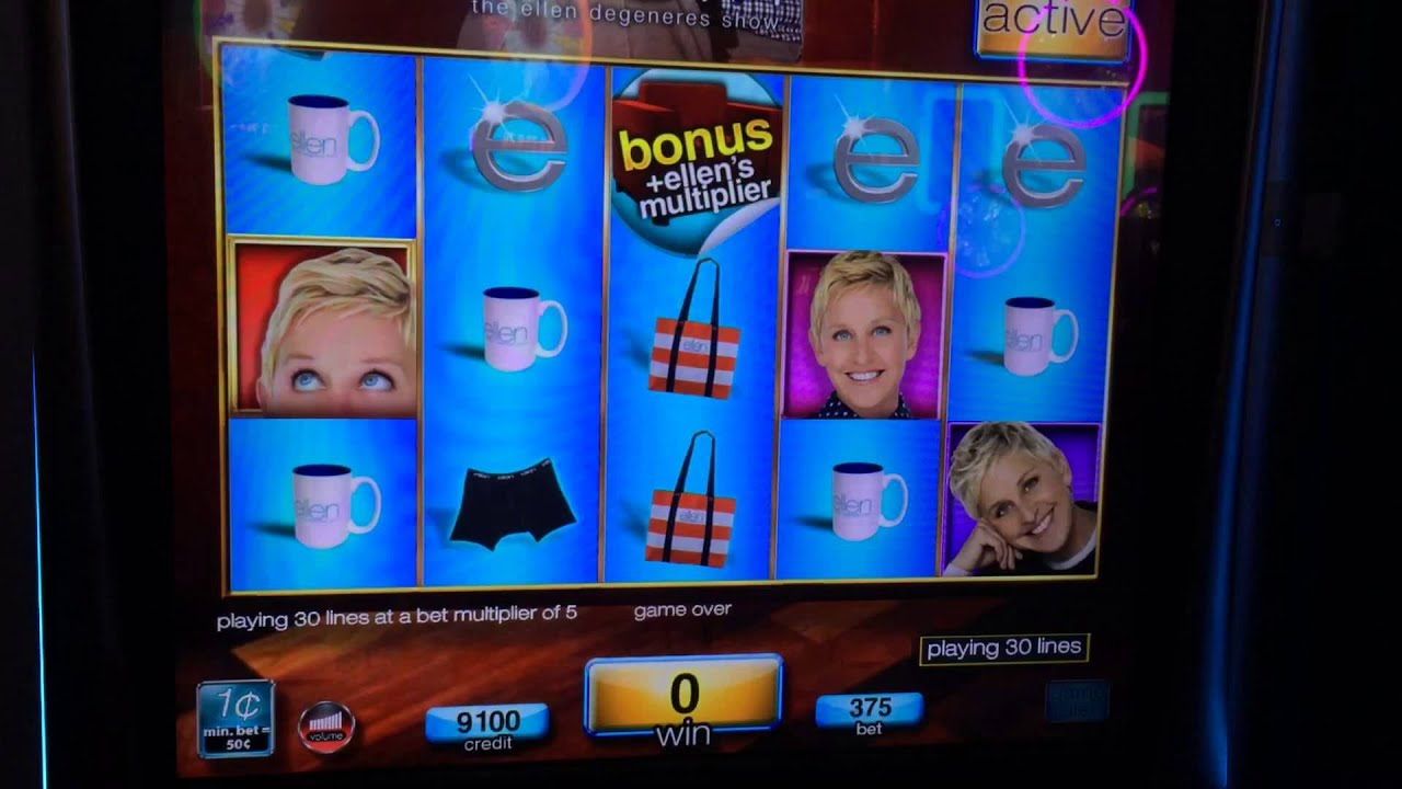 where can i find ellen slot machines
