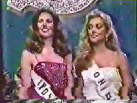 Miss USA 1981- Crowning Moment - YouTube