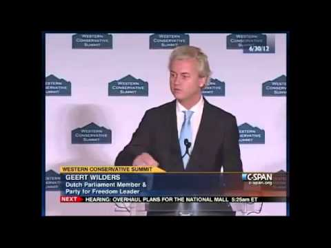 Geert Wilders 'Standing-Ovation' Address to American Conservatives 4/4
