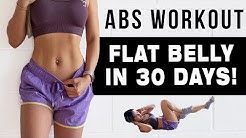 10 Mins ABS Workout To Get FLAT BELLY IN 30 DAYS | FREE WORKOUT PROGRAM