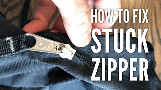 How to Fix a Stuck Jammed Zipper (Quick and Easy)