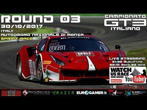 Assetto Corsa - Campionato Italiano GT3 '17/'18 - ROUND 03: Italy